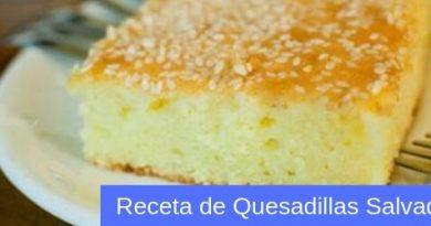 receta facil de quesadilla salvadoreña