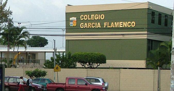 colegio garcia flamenco, san salvador